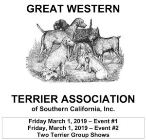 2019 Great Western Terrier Association Dog Show at the Los Angeles County Fairplex
